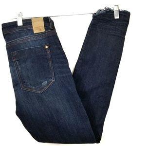 Zara Z1975 distressed denim jeans